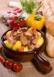 Pork stew Stock Image