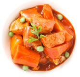 Pork stew Royalty Free Stock Photography