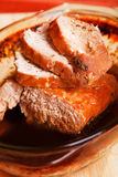 Pork stew in sauce Royalty Free Stock Photos