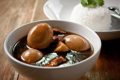 Free Pork Stew With Egg And Rice. Stock Photography - 16901862