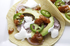 Pork Taco Royalty Free Stock Photos