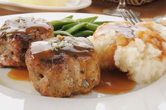 Pork Tenderloin Medallions Royalty Free Stock Photos