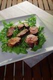 Pork tenderloin medallions Stock Image