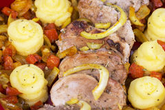 Pork tenderloin Royalty Free Stock Images