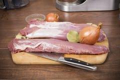 Pork tenderloin Stock Photos