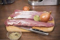 Pork tenderloin Royalty Free Stock Photography