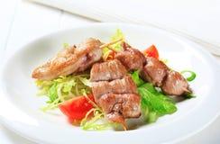 Pork tenderloin skewers Royalty Free Stock Photos