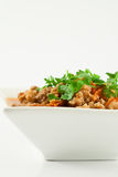 Pork and Tomato Relish , Northern Thai food Stock Photo