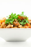 Pork and Tomato Relish , Northern Thai food Royalty Free Stock Image