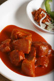 Pork Vindaloo - Hot and Sour Pork from Western Stock Photography