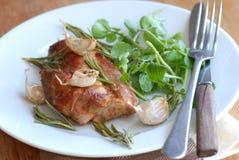 Pork With Watercress Royalty Free Stock Photo