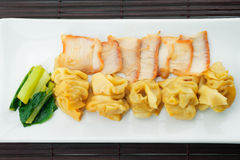Pork wonton Royalty Free Stock Image