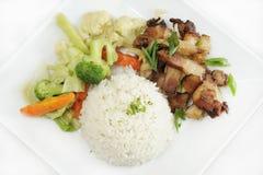 Porkchop Meal Royalty Free Stock Images