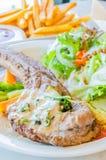 Porkchop steak Royalty Free Stock Photography