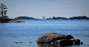 Porkkala-Erholungsort Lizenzfreies Stockbild