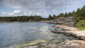 Porkkalanniemi. Beautiful seaside at Porkkalanniemi in Finland Stock Photos