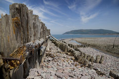 Beauty of Porlock bay, Somerset, England Royalty Free Stock Images