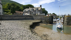 Porlock Weir, England Royalty Free Stock Images
