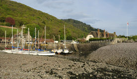 Porlock Weir Harbour Royalty Free Stock Images