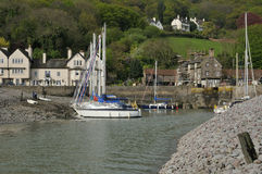 Porlock Weir Harbour Royalty Free Stock Photos