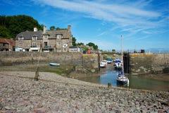 Porlock Weir, Somerset, UK Stock Photos