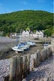Porlock Weir, Somerset, UK Royalty Free Stock Images