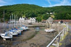 Porlock Weir, Somerset, UK Stock Images
