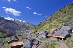 The Pornacal, Somiedo, Asturias, Spain. Royalty Free Stock Photos