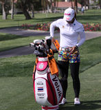 Pornanong Phatlum at the ANA inspiration golf tournament 2015. RANCHO MIRAGE, CALIFORNIA - APRIL 01, 2015 : Pornanong Phatlum of malaysia at the ANA inspiration stock images