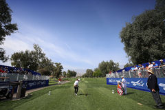 Pornanong Phatlum at the ANA inspiration golf tournament 2015. RANCHO MIRAGE, CALIFORNIA - APRIL 01, 2015 : Pornanong Phatlum of malaysia at the ANA inspiration royalty free stock photo