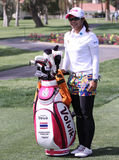 Pornanong Phatlum at the ANA inspiration golf tournament 2015. RANCHO MIRAGE, CALIFORNIA - APRIL 01, 2015 : Pornanong Phatlum of malaysia at the ANA inspiration stock photography