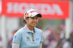 Pornanong Phatlum in Honda LPGA Thailand 2018 Lizenzfreies Stockbild