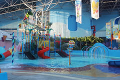 Pororo Aquapark, Bangkok, Thailand Stock Afbeelding