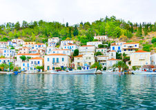 Poros city Royalty Free Stock Photos