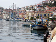 Poros, Greece Royalty Free Stock Photos
