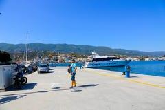 Poros-Insel - Griechenland Stockfotografie