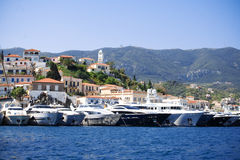 Poros Island Royalty Free Stock Photo