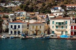 Poros island. Greece stock photo