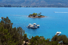 Poros island, Greece Stock Image
