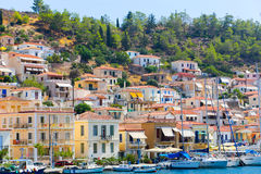 Poros island - Greece Royalty Free Stock Photos