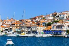 Poros island - Greece Stock Photo