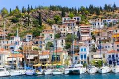 Poros island - Greece Royalty Free Stock Image
