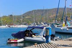Poros island - Greece Stock Images