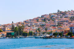 Poros island in Greece Stock Image