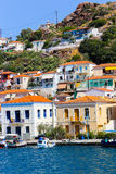 Poros island in Greece Royalty Free Stock Photo
