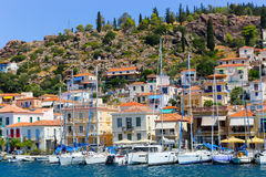 Poros island - Greece Royalty Free Stock Photo