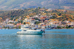 Poros island in Greece Stock Photography