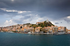 Poros island. Stock Photos