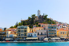 Poros island - greece Royalty Free Stock Photos