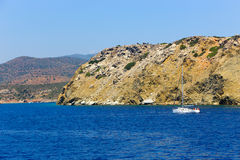 Poros island - greece Royalty Free Stock Images